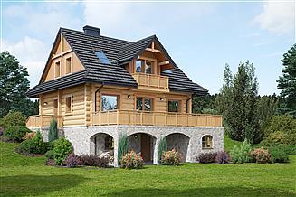 Projekt domu Jaworzynka dw 5