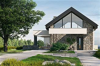 Projekt domu letniskowego HomeKoncept-65 A DL
