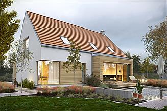 Projekt domu Atrakcyjny 1A