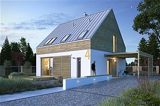 Projekt domu Rozważny 1