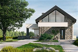 Projekt domu letniskowego HomeKoncept-65 DL