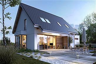 Projekt domu Przytulny 2A