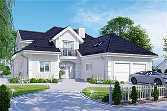 Projekt domu APS 255 trzypokoleniowy