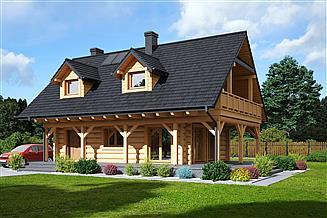 Projekt domu Świdnica 33 dw