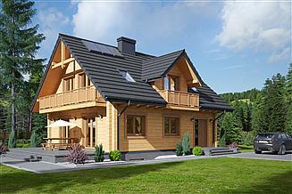 Projekt domu Ścinawka dw 9