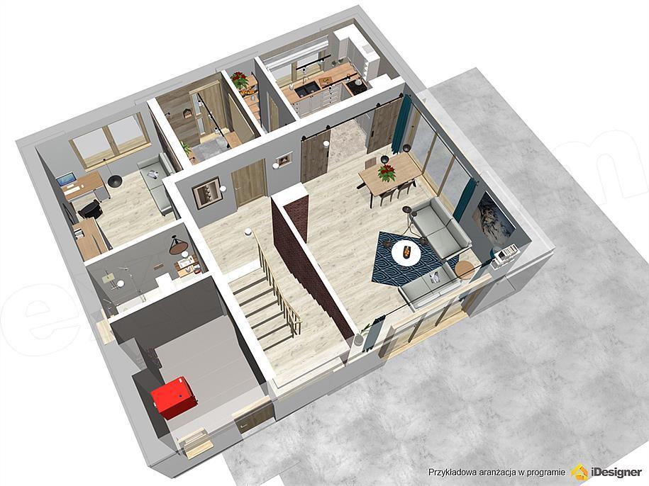 Projekt Domu Armanda Mala Bis 114 76 M2 Koszt Budowy Extradom