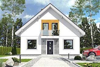 Projekt domu Dom Dla Ciebie 6 bez garażu [B]