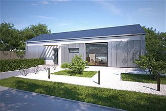 Projekt domu Praia II DCB134a