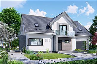 Projekt domu APS 311