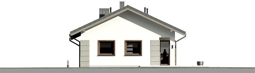 Projekt Dom Przy Pastelowej 16 D 90 M2 Koszt Budowy Extradom