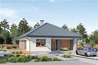 Projekt domu Murator M242 Od serca