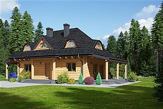 Projekt domu Chmielniki małe dw 21