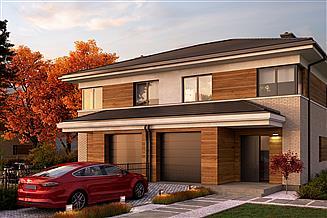 Projekt domu Eco 22 - dwulokalowy