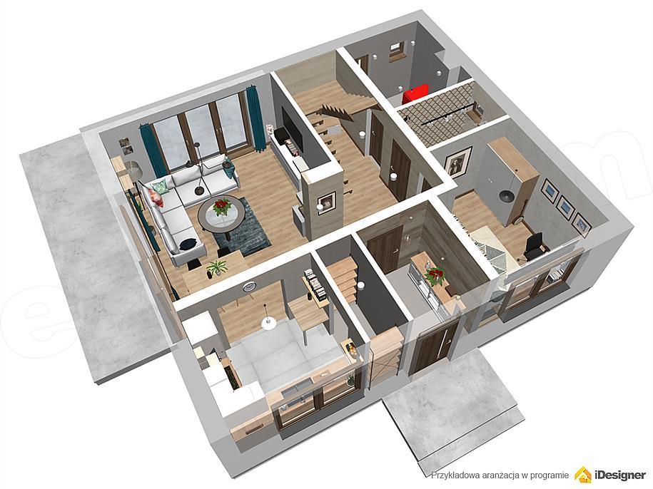 Projekt Domu Armanda Mala 117 01 M2 Koszt Budowy Extradom