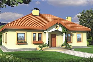 Projekt domu Sielanka BP