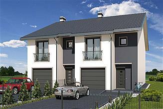 Projekt domu Konrad 2-lokalowy LP