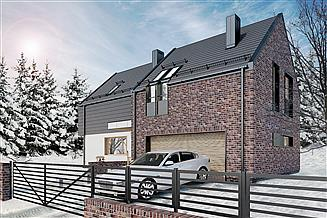 Projekt domu Optymalny 03