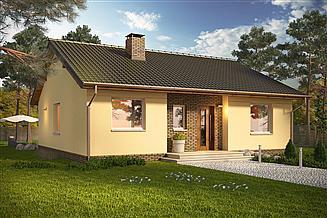 Projekt domu Kremówka