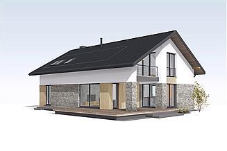 Projekt domu Słoneczny 2
