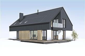 Projekt domu Słoneczny 3