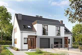 Projekt domu Eco 20 dwulokalowy