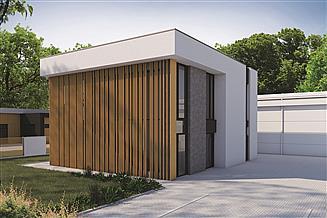 Gotowe Projekty Budynkow Uslugowych O Powierzchni Zabudowy