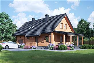 Projekt domu Kopowo dw