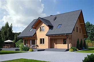 Projekt domu Bolechowo dw1
