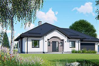 Projekt domu APS 217 + 2G