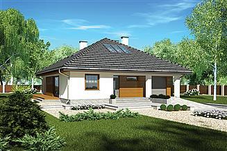 Projekt domu Murator M212c Piasek pustyni - wariant III