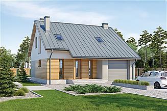 Projekt domu Murator M243 Wzorowy