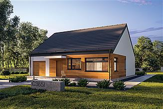 Projekt domu Murator C365i Przejrzysty - wariant IX