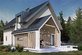 Projekt domu Kompaktowy 03C