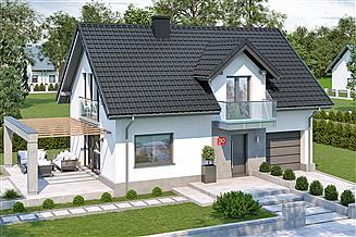 Projekt domu Dom przy Alabastrowej 30