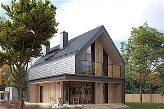 Projekt domu Malutki 2