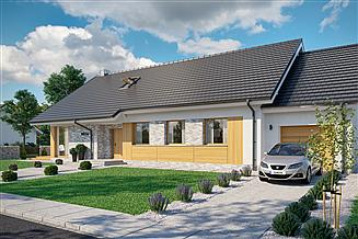 Projekt domu Domena 103 1-A