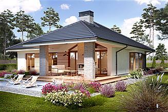 Projekt domu Piwonia