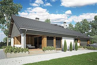 Projekt domu Kos Mini II SZ