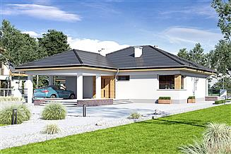 Projekt domu Tomaszek III Novum [A1]