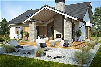 Projekt domu Judyta