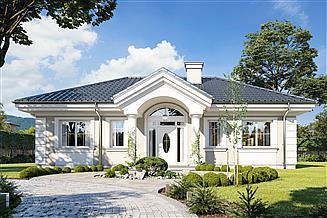 Projekt domu Dom na Dębowej