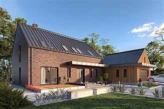 Projekt domu Lund DCP370