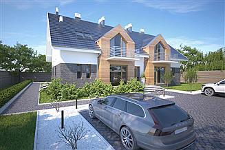Projekt pensjonatu Budynek agroturystyczny Dąb 3 LMPS02b