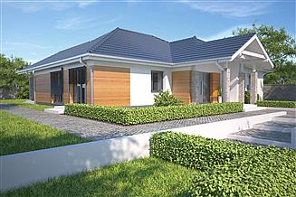 Projekt domu Monterey II Pasywny 7 LDP07