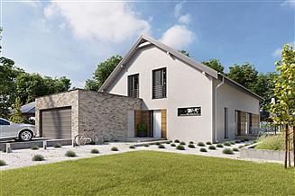 Projekt domu Sligo Pasywny 9 LDP09