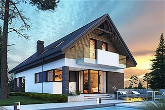 Projekt domu Szach N 2G+