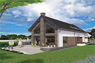 Projekt domu Canari