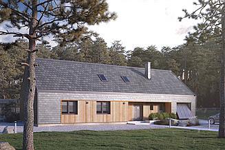 Projekt domu Jemioła 3