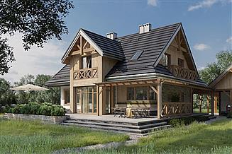 Projekt domu Jadzia - murowana – ceramika
