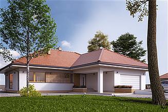 Projekt domu Ambrozja 16